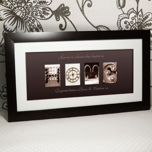 Personalised Affection Art Home Large Frame